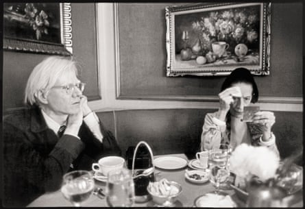 Andy Warhol and Diana Vreeland