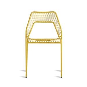Yellow hot mesh chair by blu dot from Heals