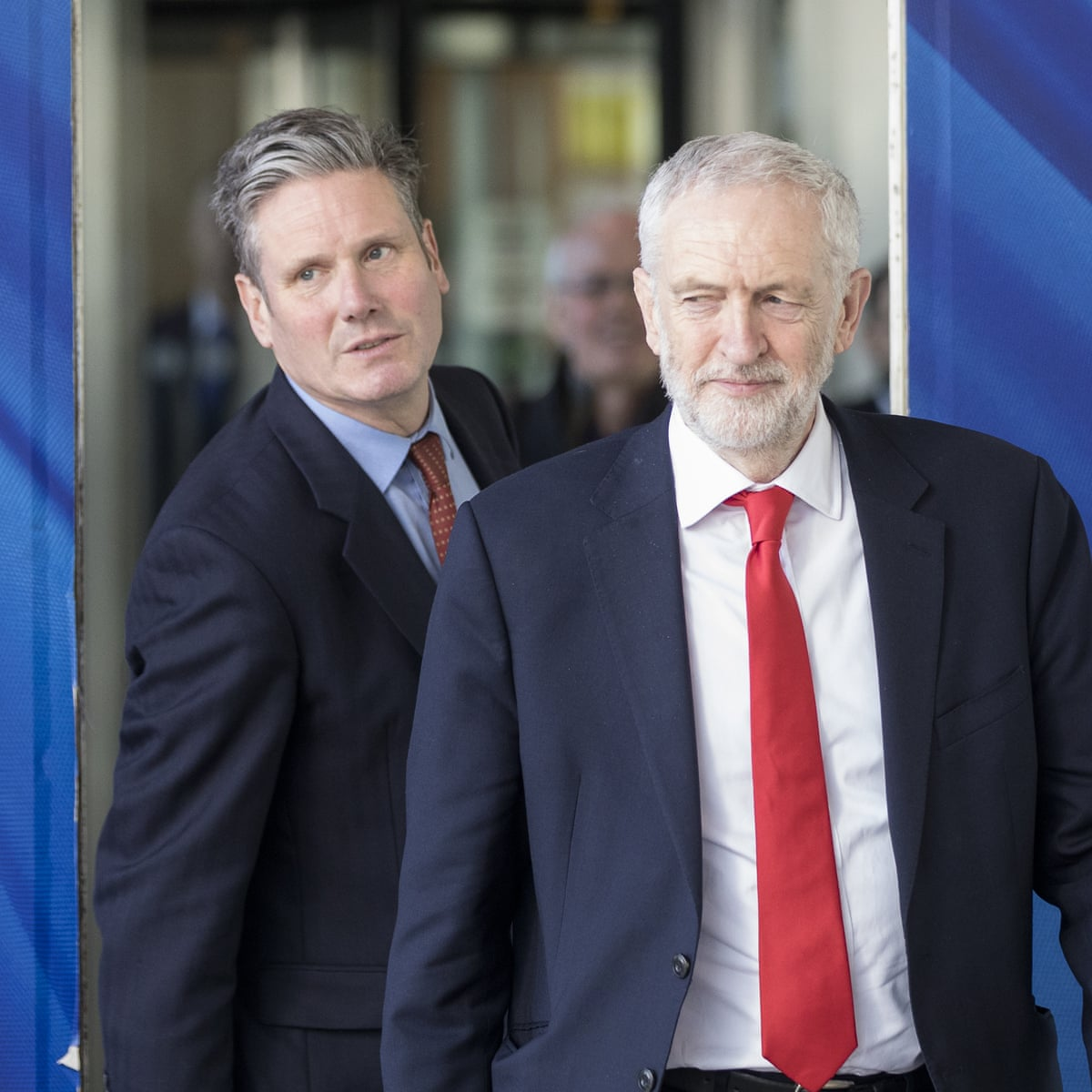 Image result for jeremy corbyn keir starmer