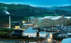 The Dumfries and Galloway district general hospital - a PFI-funded project under the Scottish government's SFT agency.