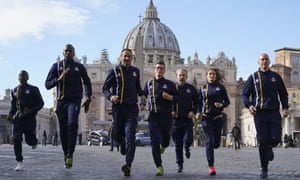 Around 60 Holy See employees have joined the Vatican's athletics team.