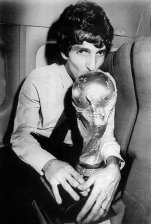 Rossi travels home with the World Cup.