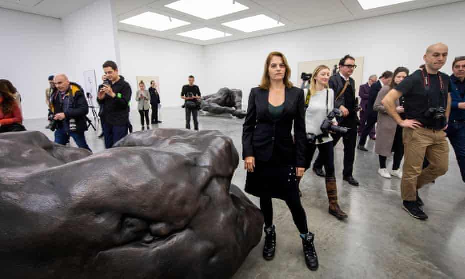 Tracey Emin at a photocall for the opening of her solo exhibition A Fortnight of Tears at White Cube Bermondsey