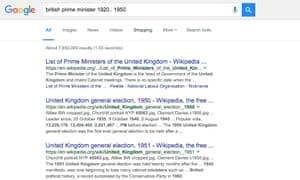 british prime minister 1920.. 1950