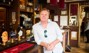 Tom Helliwell, the landlord of The Woodman in Highgate, north London.