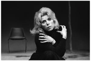 Billie Whitelaw at the Royal Court theatre in 1976