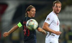 Luka Modric and Harry Kane had quiet games