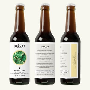Cloud 9's High Flyer beer – with cannabis oil
