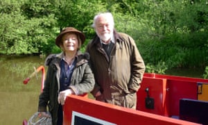 One of the greatest love stories on TV seems to be over ... Tim and Pru in Great Canal Journeys.