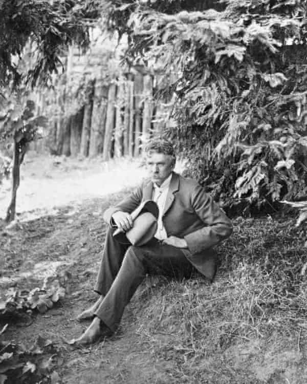 Ambrose Bierce spent a day in 1913 sitting under the blazing sun at Shiloh where he had fought 50 years before.