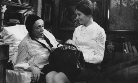 Lili Darvas, left, and Mari Törőcsik in Love.