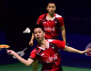 Indonesia triumps in yesterday's China Open men's doubles final.