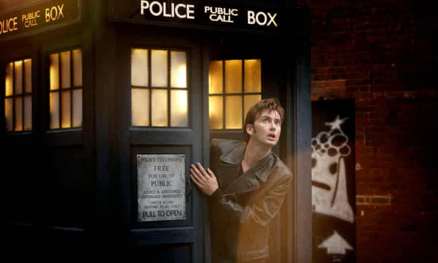 Lord of the fourth dimension: David Tennant as Doctor Who.