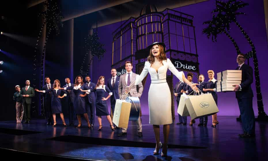 Samantha Barks, Andy Karl and company in Pretty Woman: The Musical.
