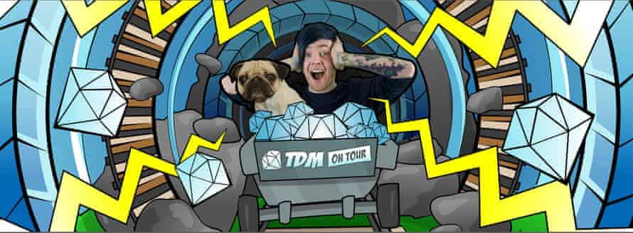 The DanTDM tour has been selling out UK theatres.