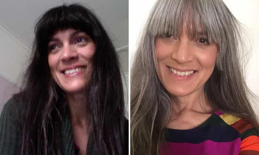 Liz Evans before and after