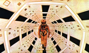 Keir Dullea as astronaut Bowman aboard the mission to Jupiter in Stanley Kubrick's 2001: A Space Odyssey.
