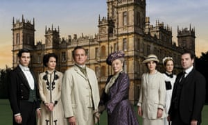 The residents of Downton Abbey
