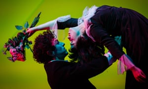 The Flying Lovers of Vitebsk come to Shakespeare's Globe.