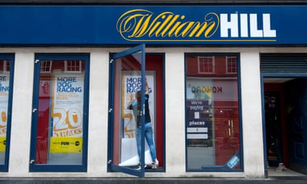 A general shot of a William Hill shop from the outside