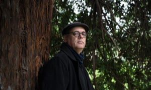 David Samuel, photographed in City Park, Launceston, on a winter's morning in July 2018.