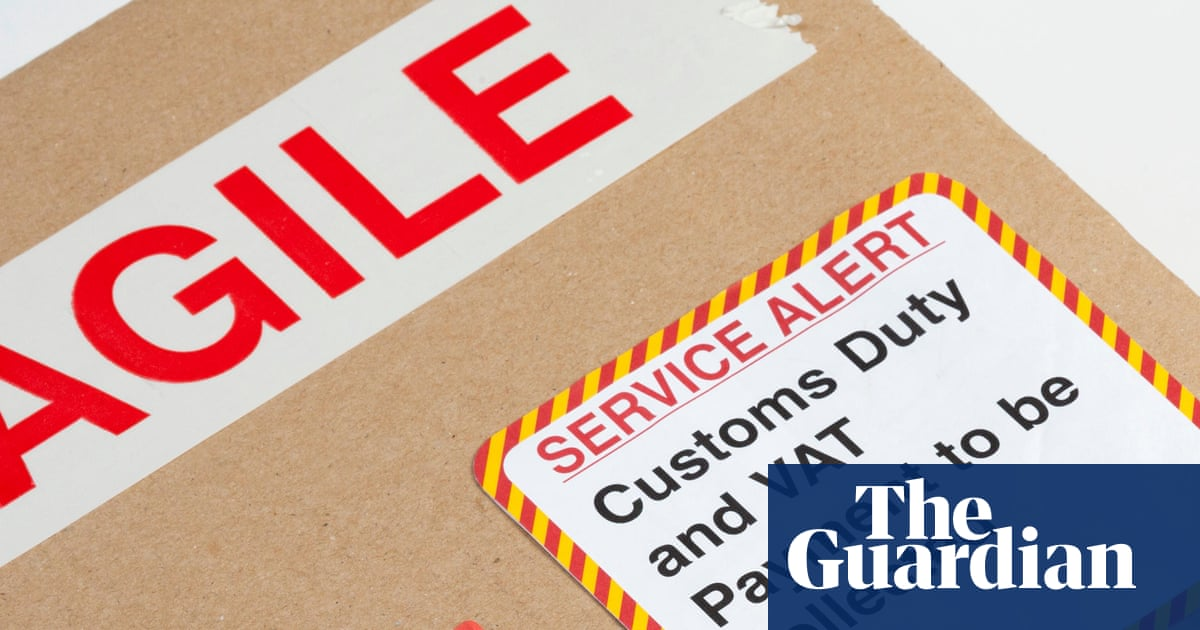 Threat over £115 customs bill charged for bracket worth £12