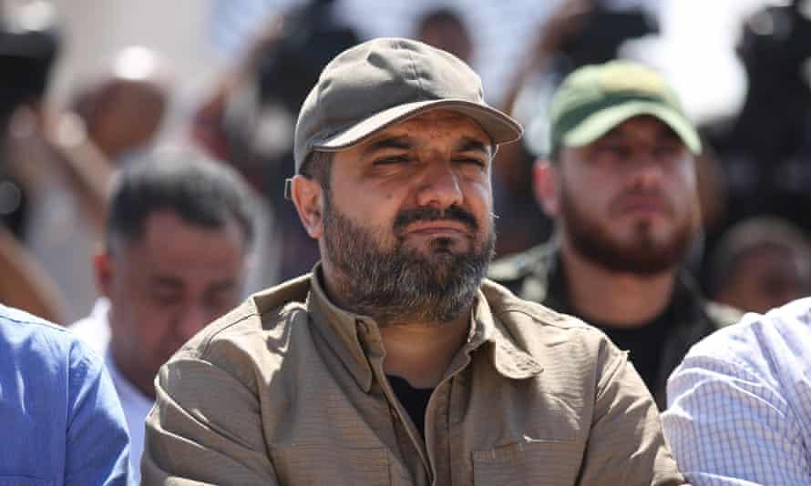 The Palestinian Islamic Jihad leader Baha Abu al-Ata