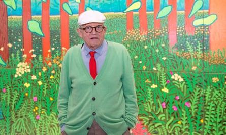 The artist David Hockney
