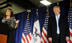 Sarah Palin endorses Donald Trump: 'Our own GOP machine … they're attacking their frontrunner.'