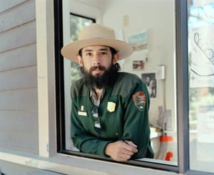 Michael Matthew Woodlee, Chris, Campground Ranger, Tuolumne Meadows Campground, 2014; from the series Yos-E-Mite
