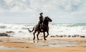 Galloping success … a still from the BBC drama Poldark, based on Winston Graham's novels.