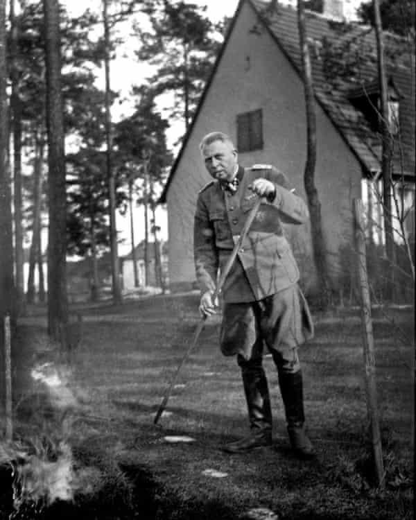 Derek Niemann's grandfather, Karl Niemann, in the summer of 1944.