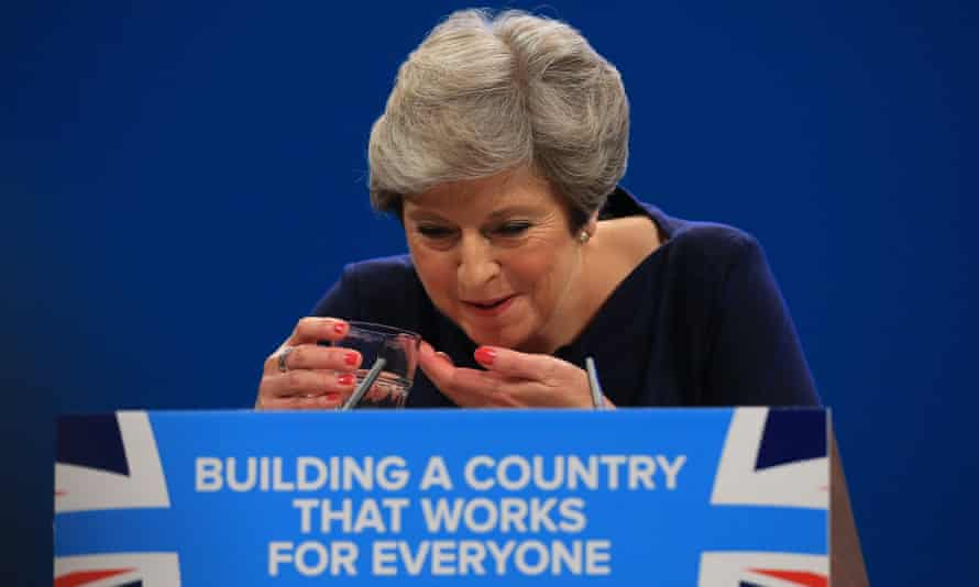Theresa May Conservative party conference Manchester