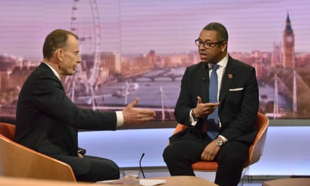 James Cleverly speaks to Andrew Marr on BBC One