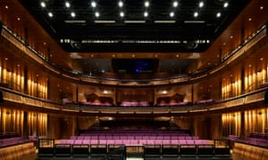 The Linbury theatre is a new, more intimate space at the refurbished Royal Opera House.