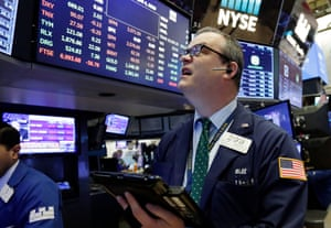 William LawrenceTrader William Lawrence works on the floor of the New York Stock Exchange, Wednesday, April 4, 2018. Stocks are opening sharply lower on Wall Street as an escalating trade dispute between the U.S. and China poses a threat to global economic growth and corporate profits. (AP Photo/Richard Drew)