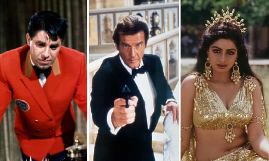 Jerry Lewis, Roger Moore, Sridevi ... three of the Hollywood stars who died in the last 12 months.