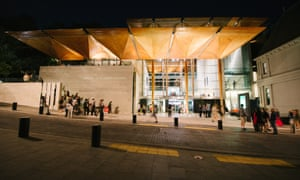 The gallery's timber atrium has been recognised internationally for its humbling design.