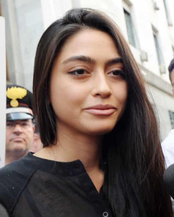 Ambra Battilana was booked into Manhattan hotels under assumed names.
