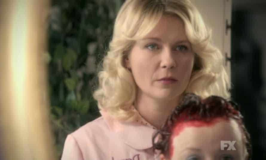 Kirsten Dunst as beautician Peggy Blomquist in Fargo.