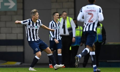 Steve Morison sets Millwall on way to shock win over Bournemouth