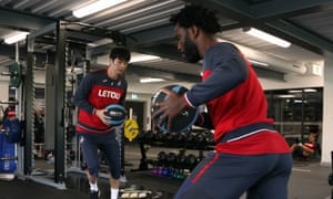 Wilfried Bony has been working hard on his recovery from a hamstring injury.
