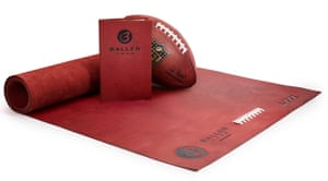The leather is sourced from Horween, the tannery which supplies the NFL and the NBA with the leather used for its balls.
