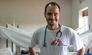 'I look at this as an opportunity that has come through a tragic event' ... Dr Christos Christou, international president of Médecins Sans Frontières.