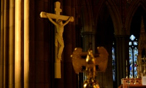 Inside St Patrick's cathedral in Melbourne. Sano taskforce is investigating allegations of sexual assault there.