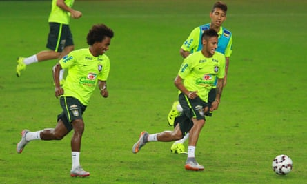 Willian and Newmar of Brazil