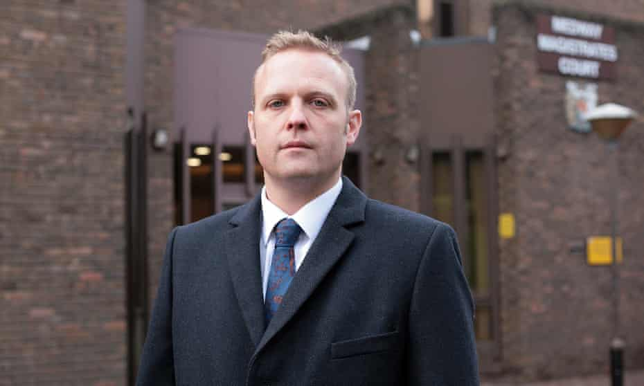 Luke Meyer, solicitor at Medway magistrates court