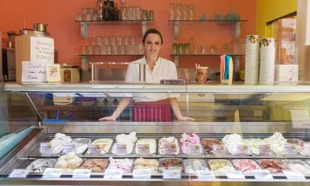 Dolce Vita gelateria in central Dubrovnik.