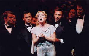 2002 concert version of Funny Girl at New Amsterdam theatre, New York with Jane Krakowski Lillias White played Fanny Brice