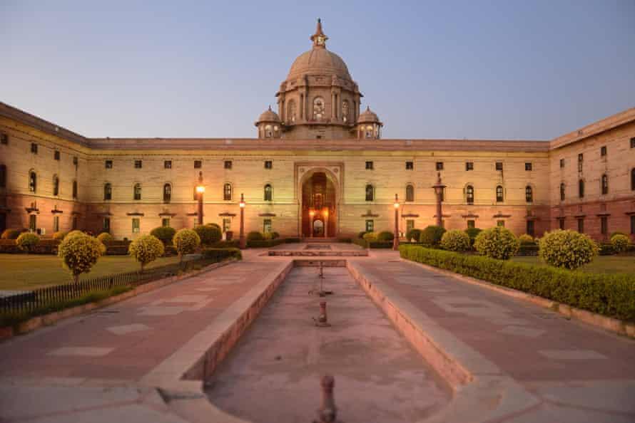 The Central Secretariat in Delhi.